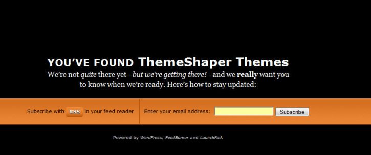 Pre-Launch Your Wordpress Start-up Site with Launchpad Theme - WP Solver