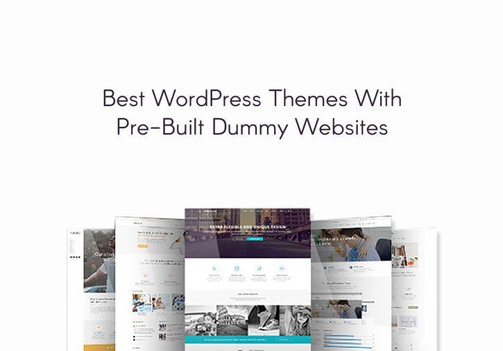 20+ Best WP Themes with Pre-Build Dummy Websites - Premium WordPress Themes, Plugins & Tutorials   Codeless