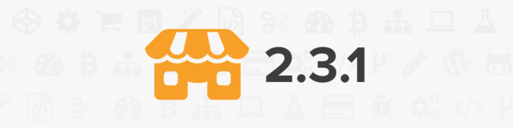 Storefront 2.3.1 release notes