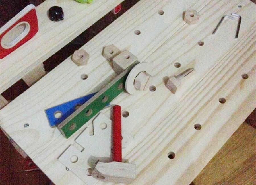 木製工作台
