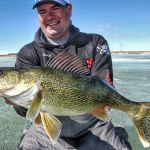 Hunting Walleye at First Ice
