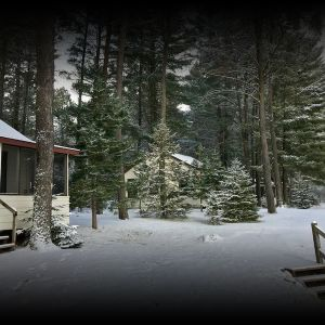 Snowmobile Trailside Cabins in Vilas County  - rent for the Season!
