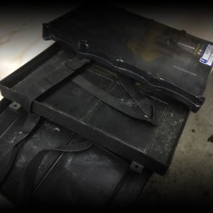Boat seats, battery trays