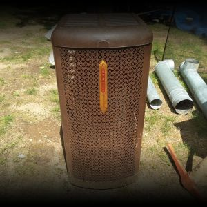 Oil drip heaters
