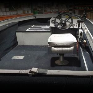 1989 16 ft fm106 starcraft with 60HP Johnson