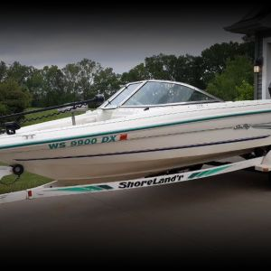 175 series Sea Ray Fish n Ski with Mercurty 125 hp