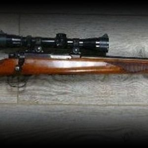 Ruger M77/22 in 22LR with new Leupold scope