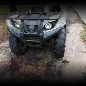 07 Yamaha grizzly 450
