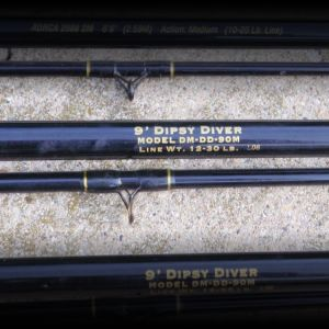 Lake Michigan Trolling rods (3 rods)