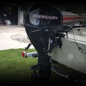 2007 Mercury 25 hp Fourstroke