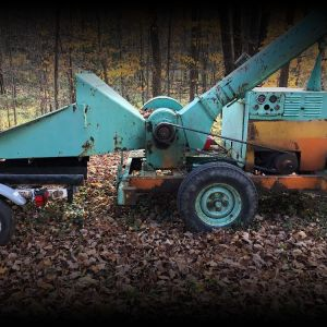 Pitman    forestry  Chipper