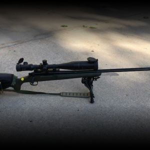 Remington XCR (Extreme Cold Rifle) .300 WM Bolt Action