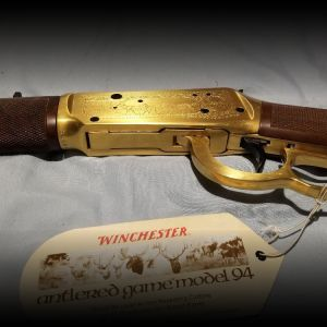 Winchester Model 94 Commemorative Antlered Game Edition 30-30 lever action