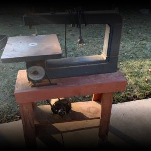 Vintage Craftsman scroll saw