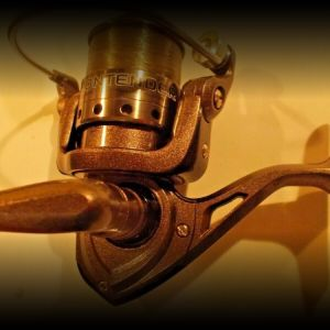 Shakespeare Contender 230b SPINNING REEL for bass pike trout, catfish, gamefish