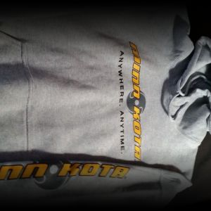 Minn Kota branded clothing