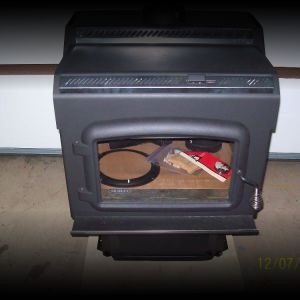 NEW Drolet wood burning stove