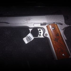 Kimber 1911 45acp Ducks Unlimited