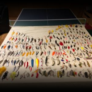 350+ Fishing Lures