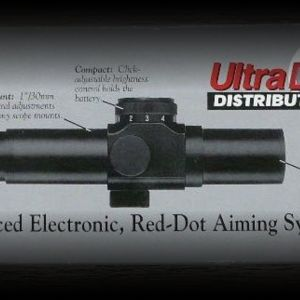 UltraDot 30mm red dot sight