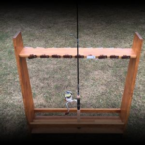 Fishing Rod Rack