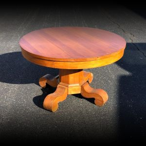 Beautiful Antique Round Style Cocktail Table