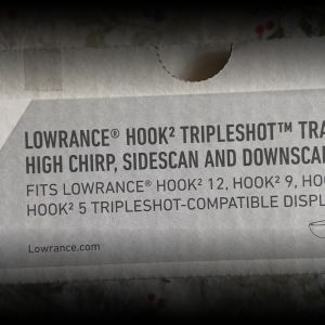 Hook triple shot transducer