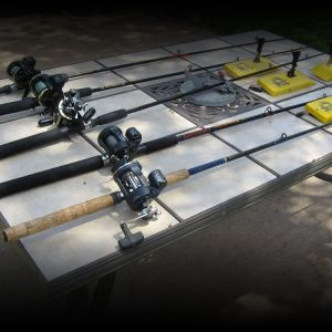 Rods, Counter Reels, Planer Boards