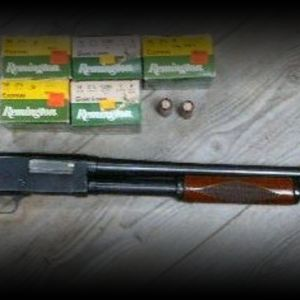 Sears Roebuck Ranger (Stevens 520) 16 gauge pump shotgun with ammo