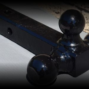 Three BALL receiver hitch