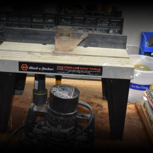 Black & Decker Router & Table