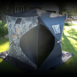 New 2 Man Polar Fire Insulated Ice Shelter