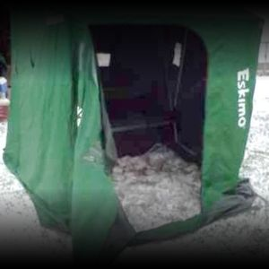Eskimo Grand Caravan Ice Fishing Shelter