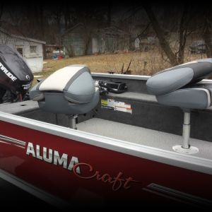 2019 165 Alumicraft Classic  60 hp Evinrude. Garmin 7s with side and down scan.