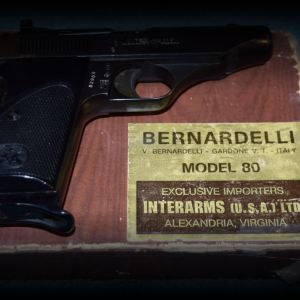 Bernardelli Model 80 .22