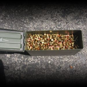 ***9mm***AMMO*** 1000 ROUNDS FMJ FEDERAL 115g.
