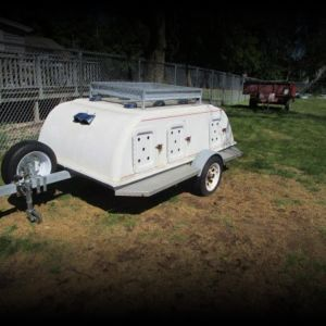 2008 Dog Trailer 6 Place