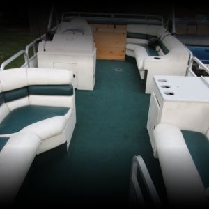 1992 Suncruiser 24' pontoon with bunk trailer