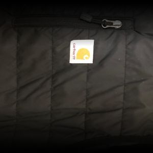 "Carhartt Gilliam Men's ""XL"" Black Insulated Puffer Vest"