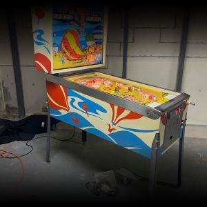 1974 Chicago Coin Hi Flyer Pinball Machine