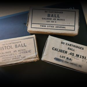 Ball Caliber .45 1911 Ammunition