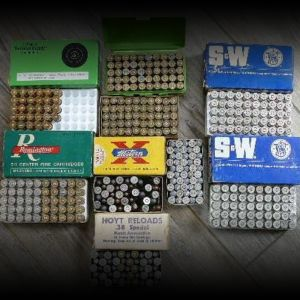 38 Special and 357 Rem Mag ammo