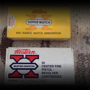 .38 Special & .45ACP match ammo