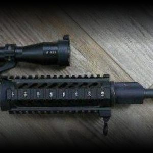 AR-15 complete upper and Nikon M-223 scope in Nikon mounts
