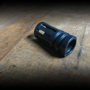 5/8 thread Flash Hider