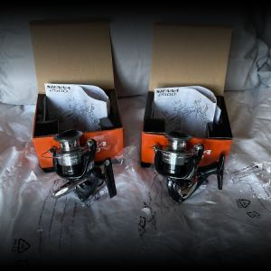 (LOT OF 2) SHIMANO SIENNA SN2500FE 5.0:1 GEAR RATIO SPINNING REEL