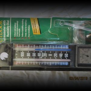 Taylor Indoor/Outdoor Thermometer