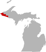 Lake Gogebic, Gogebic County