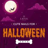 💛 Ai nói nails Halloween thì không thể dễ thương??? 💛
