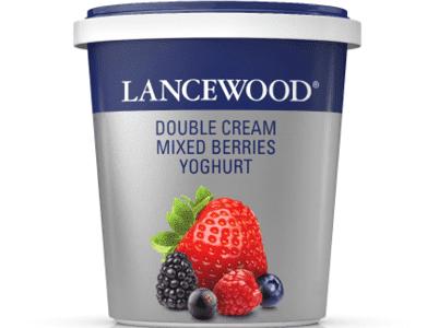 Double Cream Mixed Berries Yoghurt